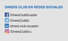 Captura de pantalla de Diners Club en Redes Sociales.