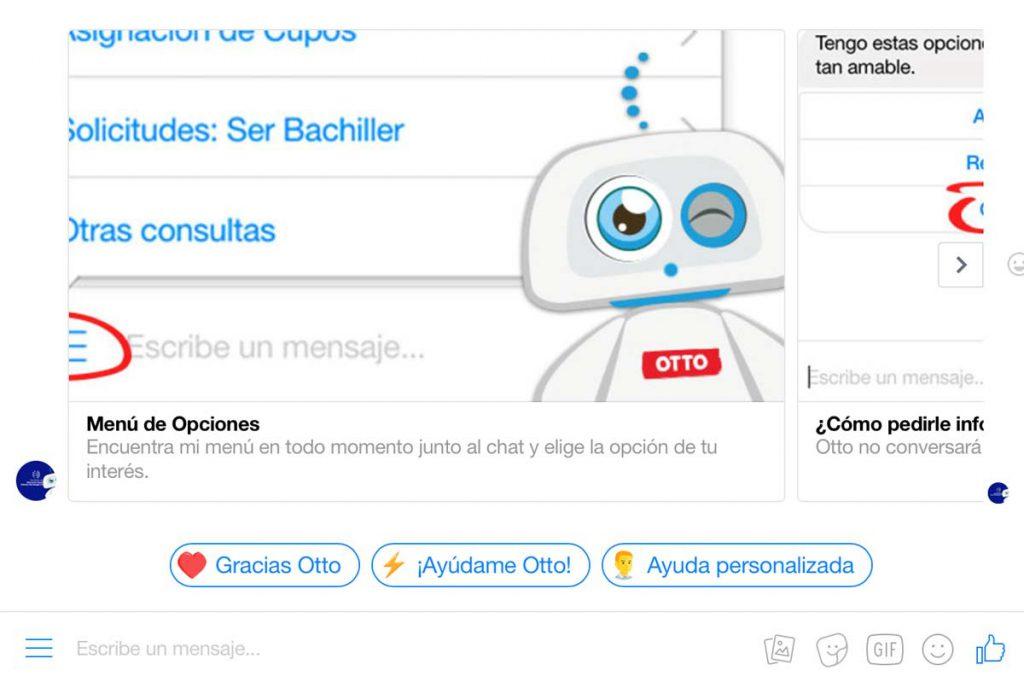 Que puede hacer por ti Otto el chatbot ecuador
